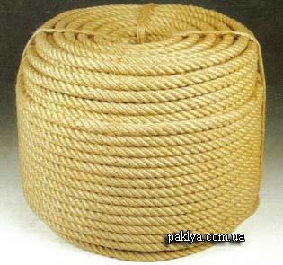 Джутовая веревка 097 96-60-166 джутовая веревка